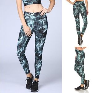 CASALL Sports leggings in Stone Green Size 8